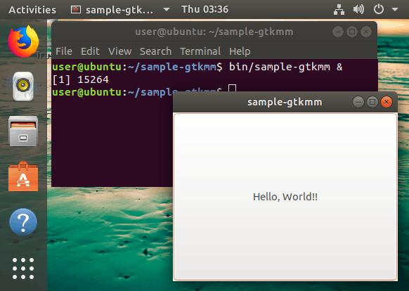 GTK+アプリケーションをLinuxでビルドする